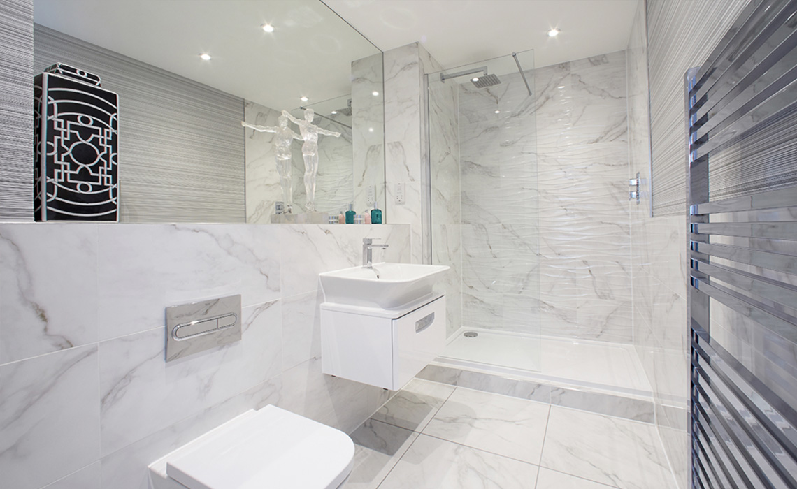Bathroom Installation at 825 Wilmslow Rd Development – Didsbury