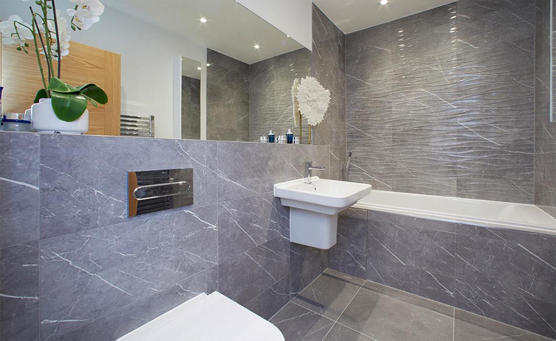 Bathroom Installation Green Walk Development – Didsbury