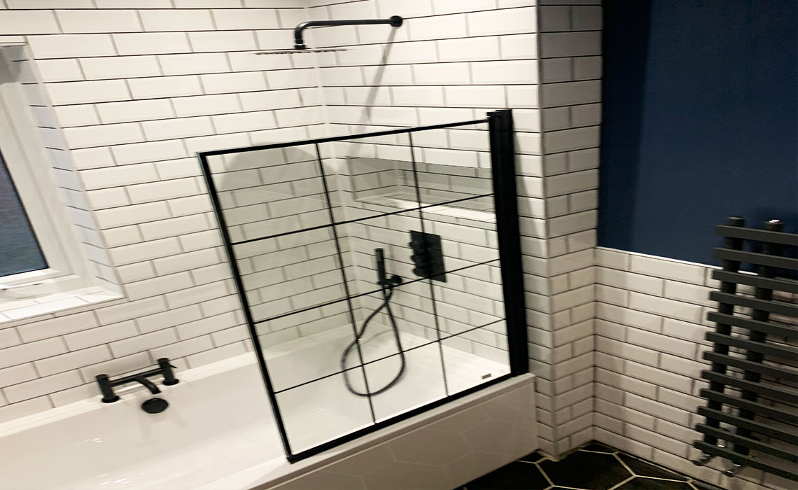 Full Bathroom project start to finish – Swinton